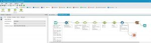 Ein Workflow in Alteryx